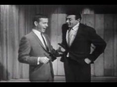 Johnny Carson learns to throw a tomahawk. Watch how long he waits and holds the punchline while the crowd settles.  An eternity!