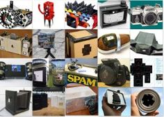 23 DIY pinhole cameras to build http://www.diyphotography.net/23-pinhole-cameras-that-you-can-build-at-home#