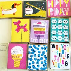 Hooray Today colorful greeting cards