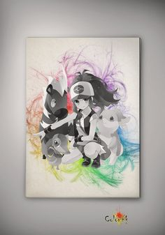 Pokemon Ash Watercolor Print  Archival Print  Art Print  Wall Decor Art Poster Anime Print  Manga  Cartoon Multi Size n590 on Etsy, 31,12zł
