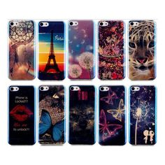 Ultra Thin Blu-ray Soft TPU Gel Silicon Case For iPhone 5 5s SE