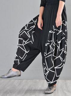 Cotton Harem Pants, Black Harem Pants, Baggy Pants, Wide Leg Pants, Trousers, Linen Pants, Yoga Pants, Cardigans For Women