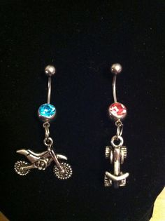 Dirt bike/Atv belly rings by BMPRODUCTS on Etsy, $10.00