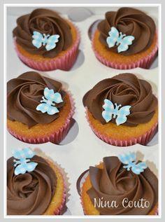 Cupcakes citron, ganache chocolat fève tonka