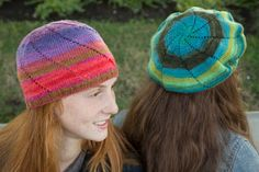 Free Knitted Cap Patterns | ... Knitting Blog: Freedom! Liberty Wool Light Swirl Hat Free Pattern