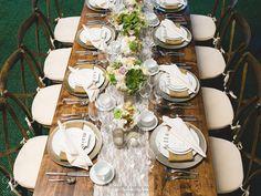 #Vintage #Romantic Theme Table #Wedding |  #WilliamsSJ | www.willparty.com | @De Young Flowers