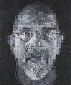 Find the latest shows, biography, and artworks for sale by Chuck Close. Chuck Close reinvented painting with his monumental portraits, rendered with exquisit… Abstract Photos, Abstract Art, Chuck Close Portraits, Yale School Of Art, High School, Collaborative Art, Photorealism, Contemporary Art, Art Photography