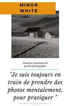 citation de photographes célèbres Ralph Gibson, Challenges, Bad Picture, Photo Bag, Taking Pictures, Photographers, Exercise