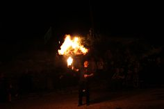 Great fire tricks this Halloween