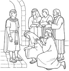 Joseph forgives his brothers - Primary coloring page from lds.org! #lds #mormons #ldsprimary