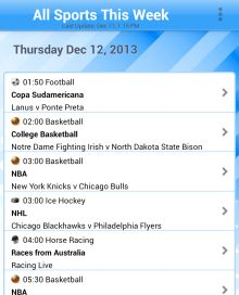 All Sports This Week