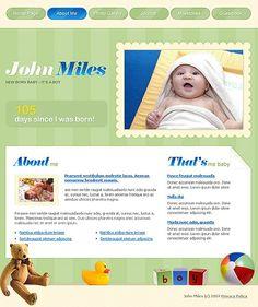 John Miles Website Templates by Di