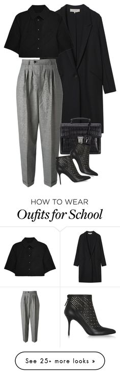 """""""Untitled #7990"""" by nikka-phillips on Polyvore featuring Gérard Darel, Yves Saint Laurent, Alexander Wang and Alexander McQueen"""
