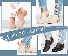 Floryday WW Free Advertising, Casual Wear, Knee Boots, Booty, Ankle, Lady, How To Wear, Clothes, Shoes