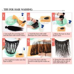 How to wash your virgin hair weaves. Weave Hairstyles, Cool Hairstyles, Jheri Curl, Diy Wig, Hair Extension Care, How To Wear A Wig, Hanging Hats, Sew In Weave, Hair Weaves