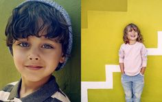 Cain And Abel, Art Direction, Art For Kids, Kids Fashion, Photoshoot, Pure Products, Studio, Children, Creative