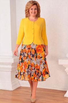 Комплект юбочный Асолия 1122.4 жёлтый