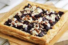Beetroot and goat's cheese tart recipe   GoodtoKnow