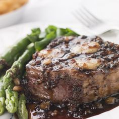 Chateaubriand with Mushrooms & Red Wine Sauce