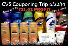 ***JOIN US for A VIRTUAL TRIP TO CVS VIA VIDEO*** Follow along with every deal on this great trip to CVS where we had a PROFIT of $23.02!!!!!  Click the link below to watch the VIDEO and get the FULL WRITTEN BREAKDOWN ► http://www.thecouponingcouple.com/cvs-shopping-trip-on-6-22-video-shop-along-for-a-23-02-profit/