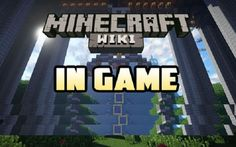 New post (In-Game Wiki Mod 1.8.8/1.7.10) has been published on In-Game Wiki Mod 1.8.8/1.7.10  -  Minecraft Resource Packs
