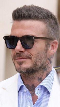 Check out Inherent Clothier shop for Premium Quality Suits! David Beckham Haircut, David Beckham Suit, David Beckham Style, Mens Hairstyles Fade, Cool Hairstyles For Men, Haircuts For Men, Classic Mens Hairstyles, Short Hair Cuts, Short Hair Styles