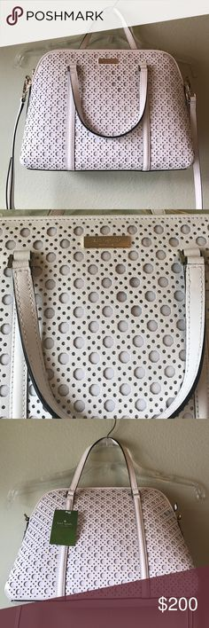 NWT SMALL RACHELLE NEWBURY LANE PURSE - KATE SPADE Brand: Kate Spade Small Rachelle WKRU3659 NEWBURY Lane Caning  Condition: New with tag || Small Rachelle BrightWhirb(167)   🚩NO TRADES  🚩NO LOWBALL OFFERS  🚩NO RUDE COMMENTS  🚩NO MODELING  ☀️Please don't discuss prices in the comment box. Make a reasonable offer and I'll either counter, accept or decline.   I will try to respond to all inquiries in a timely manner. Please check out the rest of my closet, I have various brands. Some new…