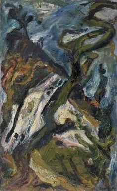 Chaim Soutine - Landscape of Gourdon (Paysage du Gourdon)
