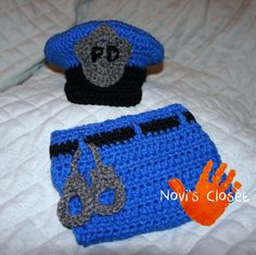 Police Officer in Training baby Photo Prop
