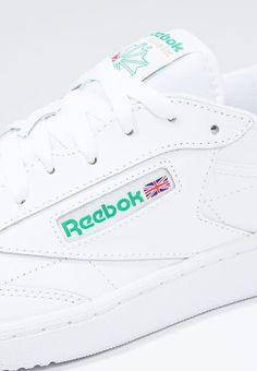a3b2279eb521 Chaussures Reebok Classic CLUB C 85 - Baskets basses - white green blanc  89