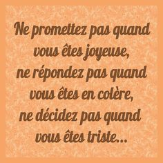 Peser ses mots…. Words Quotes, Life Quotes, Sayings, Dont Be Normal, French Quotes, Inner Strength, Visual Statements, Positive Attitude, Life Inspiration