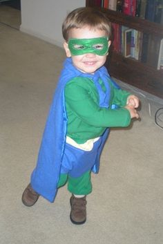 A Homemade Super Why Costume