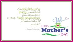 Capper's Weekly Mother's Day Quotes