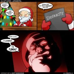 Death Note Santa Crossover?