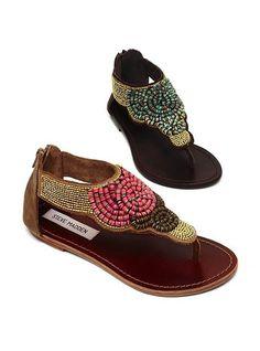 Steve Madden Pharroh. I've been eyeing these sandals for a minute