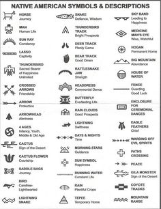 Native American Symbols                                                                                                                                                      More