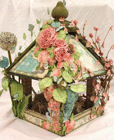 Arty-Forty: Botanical Tea Birdhouse