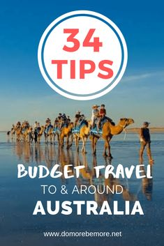 34 Tips for Budget Travel To and Around Australia - Do More Be More - Is Australia on your bucket list but one of those places that you keep reconsidering because it's - Budget Travel, Travel Tips, Travel Hacks, Cheap Travel, Europe Budget, Travel Ideas, Travel Advise, Slow Travel, Travel Articles
