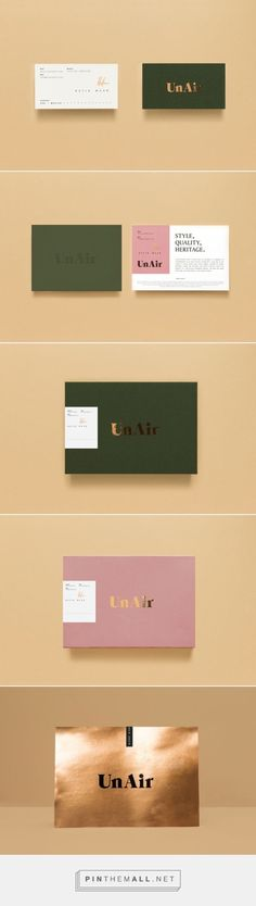 Unair - Batik Wear Branding on Behance Corporate Design, Brand Identity Design, Graphic Design Branding, Stationery Design, Business Card Design, Typography Design, Logo Design, Web Design, Lettering