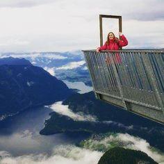 """Na zakończenie podróży po Austrii - wjazd na Dachstein, na platformę widokową """"5…"""
