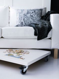 manic monday: hack some IKEA pieces and use unexpected spaces (via Ikea)