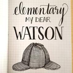 Sherlock. Elementary my dear Watson.