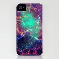 Cave Nebula iPhone Case by Starstuff