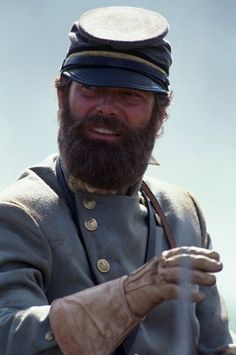 Gods and Generals (2003) - Stephen Lang as Stonewall Jackson, superb performance!  Second film is Gettysburg.  (Lang appeared as General Pickett in the second movie.)
