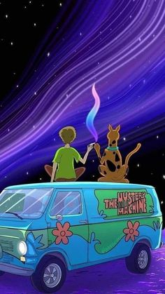 Wallpaper I found and loved Credit: Ladyshadow88 on Zedge - Scoobydoo | Trippy iphone wallpaper, Cartoon wallpaper iphone, Trippy cartoon