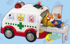 KOREAN TOY_ Mimi World _ Pororo sounding Hospital Car[001KR] by Mimi World. $68.00. Item location : Korea and we ship to worldwide. KOREAN TOY_ Mimi World _ Pororo sounding Hospital Car[001KR]. Mimi World _ Pororo sounding hospital car  Pororo hurts! I have to go to the hospital! Button is pressed, the flashing light on the hospital car sound coming out giving the subject Hospital car's tailgate opens Hospital car when you arrive at the hospital, Pororo was lying ...