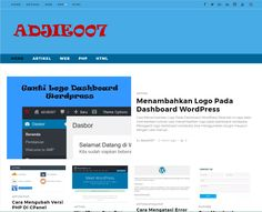 Selamat datang di website kami, ADJIE007 adalah sebuah media yang membahas tentang tutorial website, cara membuat website, tips & trick, teknologi