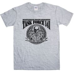 New Mens T Shirt -  Inspired by Call of Duty T Shirt - Task Force 141