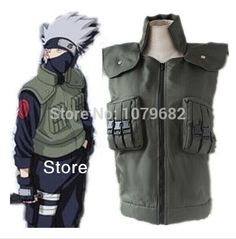 naruto hatake kakashi vest cosplay cotumes anime cosplay halloween costume from kingchanging2544 dhgate - Halloween Bullet Proof Vest