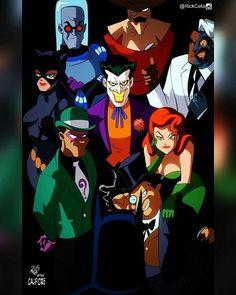 After Califiore #BringBatmanTASback What cover would you like to see next? Comment below. #Batman #twoface #Catwoman #penguin #riddler #joker #scarecrow #mrfreeze #poisonivy #btas #BatmanTas #rebirth #PaulDini #brucetimm #rickcelis